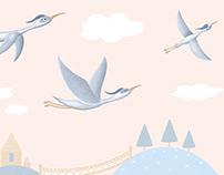 Birds/Ptáci stickers