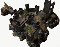 Castle Ruins Environment