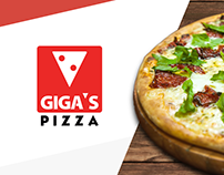Website e Mídia Digital - Giga's Pizza