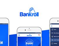Bankroll Mobile Application / UI and Logo Design