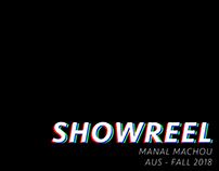 Animation Showreel - Fall '18
