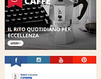 Bialetti Group - layout siti di gruppo 2015