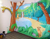 Fresque mural