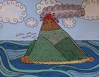 Oceanic Volcano