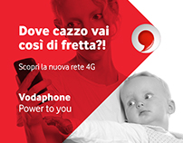 4G Vodafone | Spoof ad campaign