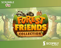 Forest friends tiles designs for Scrabble® GO game