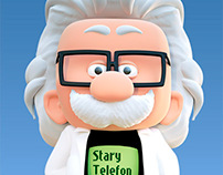 Starytelefon.pl - 3D character