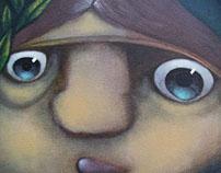 """pintando . """"Del bosque"""""""