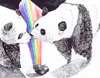 Cosmic Panda Bears