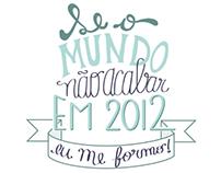 Camiseta Formandos ADM UFPR 2012