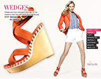 Fashion Trends Experience for Nordstrom.com