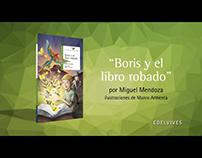 BOOKTRAILER: Boris y el libro robado