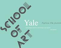 Yale School of Art Website Redesign