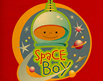 Space Boy - Home Decor & Apparel