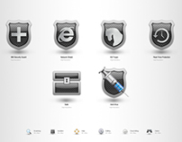 UI Design for '360 Security Guards'