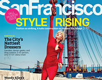 San Francisco Mag. Fashion Story