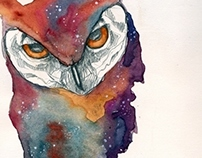 space owl.