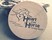 The Heart of the Horse Logotype
