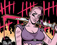 Goad X Anarchy sunglasses graphics