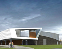 Leisure center design, Nieuw Vennep, the Netherlands