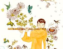 Flute Player 대금부는 사나이
