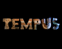 """Tempus"" short film logo illustration"