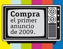 El primer anuncio del año 2009