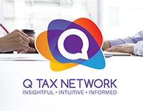 Q Tax Network Logo & Branding