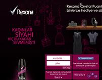 Rexona Microsite 2012
