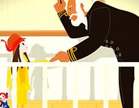 Titanic - Blue Peter Segment (BBC)