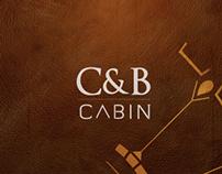 Cabin, C&B.