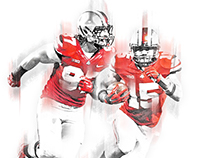 Ohio State Football Misc. Print // 2015