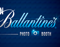 Plan Ballantine's photobooth