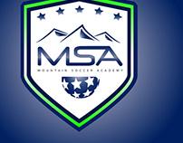 Mountain Soccer Academy branding