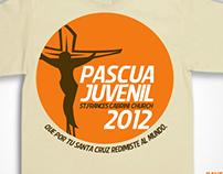 Diseño Pascua Juvenil 2012 Flyer & T Shirt