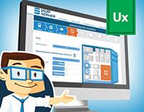 Server selling platform | UX & Web Design