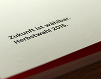 NEOS WAHLPROGRAMM HERBST 2015