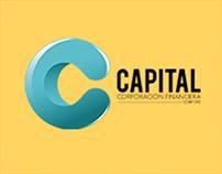 Línea gráfica de Capital Corporación Financiera