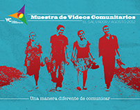 Diseño editorial para Muestra de Video Comunitario 2012