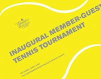 Greenbrier Member-Guest Tennis Direct Mail/Poster