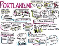 Sketchnotes 3: Portland and Jacksonville