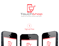 Touch Shop : Find stores nearby