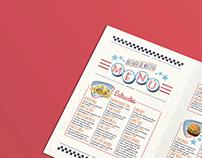 Menu for Car's Diner Restaurant