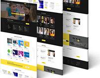 UI Design Project for a Online Education Website