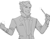 Character Design: Hamza
