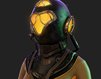 Diver - An 8 days personal Project