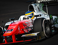 2017 MP Motorsport F2 Livery