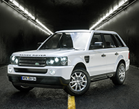 Land Rover /// CGI