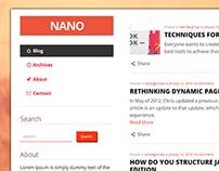 Nano - WP theme