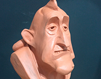 Sculpting Plasticine Cartoon